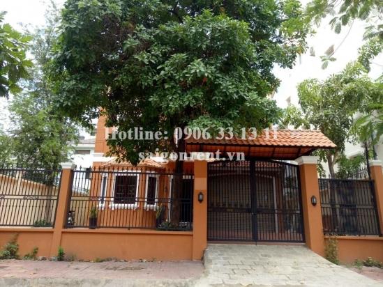 Villa room for rent in Nguyen Van Huong street, Thao Dien ward, District 2- 25sqm- 350 USD