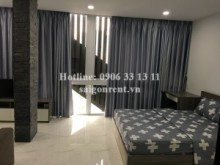 Serviced Apartments for rent in Binh Thanh District - Brand new and Nice serviced studio apartment 01 bedroom for rent on Nguyen Huu Canh street - Binh Thanh District - 35sqm - 550 USD