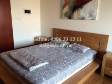 Nice apartment for rent on 25th floor  in The Manor Officetel Building, Nguyen Huu Canh street, Binh Thanh District, 36sqm: 650 USD